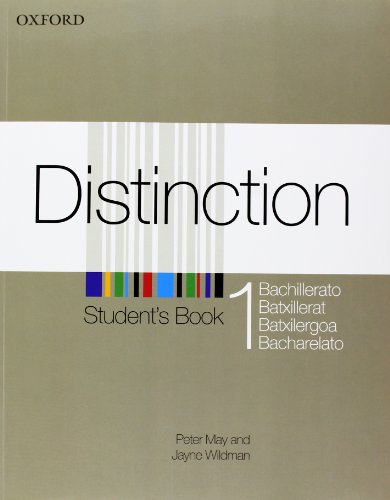 Distinction 1: Student's Book with Oral Skills Companion (Spanish) - 9780194624305