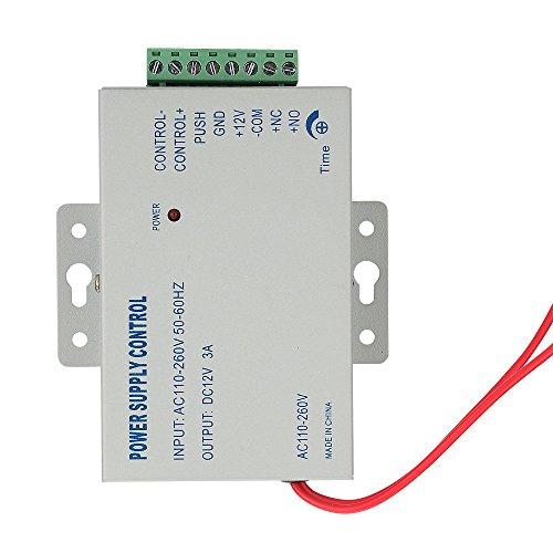 mountainone AC 110–240V in zu DC 12V 3A Stromversorgung für Tür Access Control weltweit Spannung (Tür-zugangs-button)