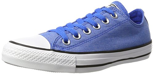 Converse  Chuck Taylor All Star, Basses mixte adulte Blau (Soar/White/Black)
