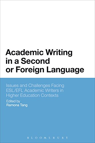 Academic Writing in a Second or Foreign Language: Issues and Challenges Facing ESL/EFL Academic Writers in Higher Education Contexts (English Edition)