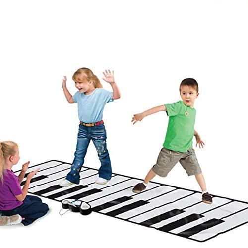 X&JJ Musical Piano Mat, Klaviertastatur Tanzmatte Elektronische Touch Teppich Musical Decke Spielzeug für Jungen Mädchen Baby Früherziehung Spielzeug