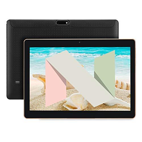 SANNUO Tablette Tactile 10.1 Pouces, Android 7.0, 3G,Quad Core, 2 Go + 16 Go, Double SIM, Double Caméra, 1280 × 800 Écran IPS, GPS, Wi-FI, OTG.