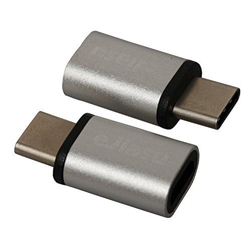 2 in 1 confezione, eJiasu USB Tipo C maschio all'adattatore femminile Micro USB Conversione di (Velocità Di Conversione)