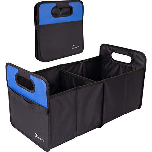 TIMARO Kofferraum Organizer | große Faltbare Einkaufstasche | Klappbox | Shopper Tasche Korb| Kofferraumtasche | Auto Aufbewahrungstasche | Tragekorb Falttasche Einkaufskorb Tragetasche Organisator