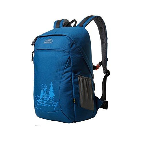 Digital SLR appareil photo sac à dos/ paquet de double usage antichoc épaules/Sac à dos Outdoor-bleu