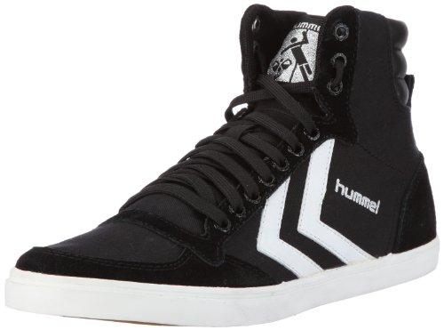 hummel HUMMEL SLIMMER STADIL HIGH 63-111-2639 Unisex-Erwachsene Sneaker Schwarz (BLACK/POOL 2113)