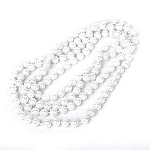 tte Perlen Flapper Perlen Bead Style Long Pullover Kette Halskette (Flapper Männer)