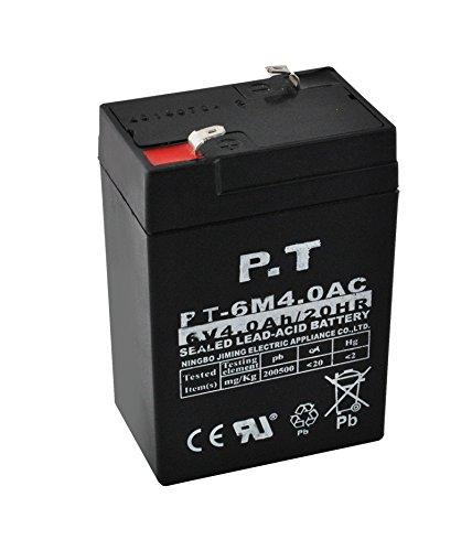 Preisvergleich Produktbild Bleigel Batterie Akku 6v 4Ah USV Notstrom Bleiakku Auto Elektro Neu #1226