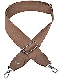 CtopoGo Ajustable Universal Correa de Hombro Cinturón Bolsa Accesorios Bolso De Hombro del Cinturón Recambio Desmontables para Mujeres para Equipaje, Correas de Hombro portatil