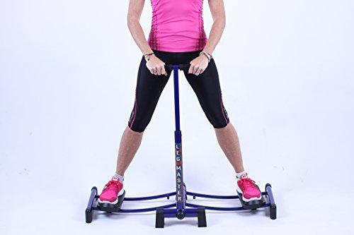 LegMaster Beintrainer Heimtrainer Fitness Equipment Gewichtsabnahmen- Hilfe – Abnehmen und Fitnesstraining Beine, Oberschenkel & Po - 4
