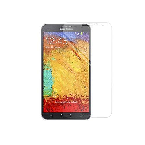 Simplecase Panzerglas passend zu Samsung Galaxy NOTE 3 neo , Premium Bildschirmschutz , Schutz durch Extra Härtegrad 9H , Case Friendly , Echtglas / Verb&glas / Panzerglasfolie , Transparent - 1 Stück