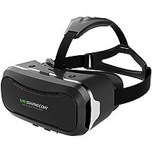 VersionTech 3D VR Gafas de Realidad Virtual con Lente Ajustable de 4-6 Pulgadas para Videos Películas en iPhone7 Plus 7/ 6/ 6S Plus Samsung Huawei LG etc