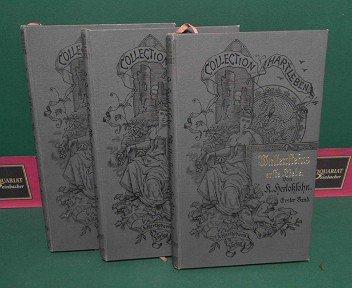 Wallenstein's erste Liebe - Roman in drei Bänden. (= Collection Hartleben, 2.Jg., Band 9-11).