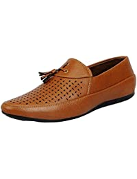 Anshul Fashion Men's Synthetic Loafers Men's Brown Synthetic Loafers And Moccasins Men's Loafers & Mocassins Casual...