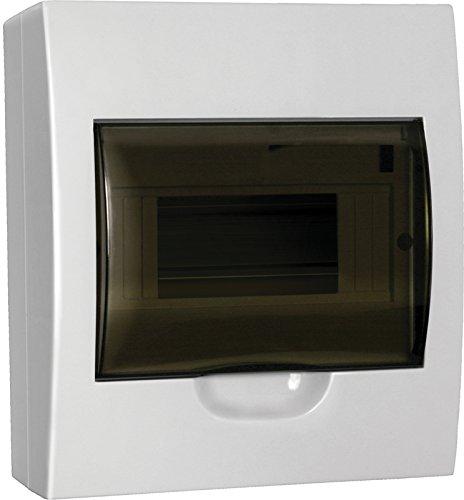 Sicherungskasten 8 Module Aufputz IP40 Kleinverteiler