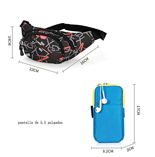 OOFWY Sacchetto di spalla della cassa del sacchetto Tempo libero Sport Uomini E Donne Zaino multifunzionale all'aperto , B D