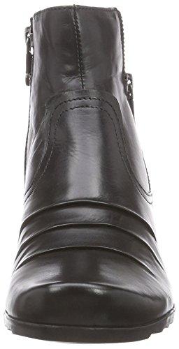 Marc ShoesMadina - Stivali classici imbottiti a gamba corta donna Nero (Schwarz (black 100))
