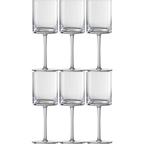 Schott Zwiesel 120232 'Modo' Rotweinkelch, Glas, 440 ml, klar (6 Stück)