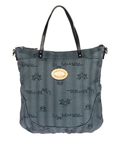 LA MARTINA Donne Shopping bag blu scuro one size