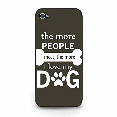 Funny Lively I Love My Dog Phone Case Cover Solid Skin Protetive Shell for Iphone 5c Dog Dream Color164d