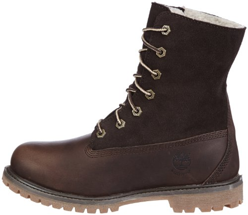 Timberland Teddy Fleece Fold Down Wp  womens Fold Down Boots  Tobacco Forty Leather  5 UK  7 US