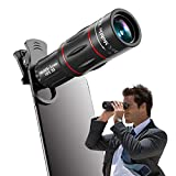 Apexel Universale 18x Clip-On Fotocamera Telescopio Fotocamera Zoom Cellulare Zoom per iPhone X / 8 7 Plus / 6S Samsung Galaxy S8 S7 Huawei e la Maggior Parte Android Smartphone