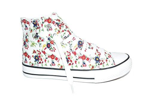 Elara - Sneaker Donna bianco 2