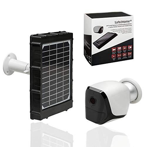 Safe2Home® Solar Funk Überwachungskamera Full HD IP Kamera mit ...