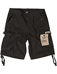 Bermuda Short Paratrooper washed schwarz