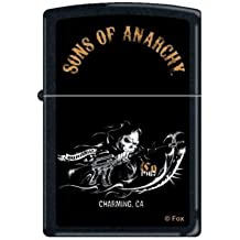 Zippo Sons of Anarchy Power to Ride SOA Fear The Reaper