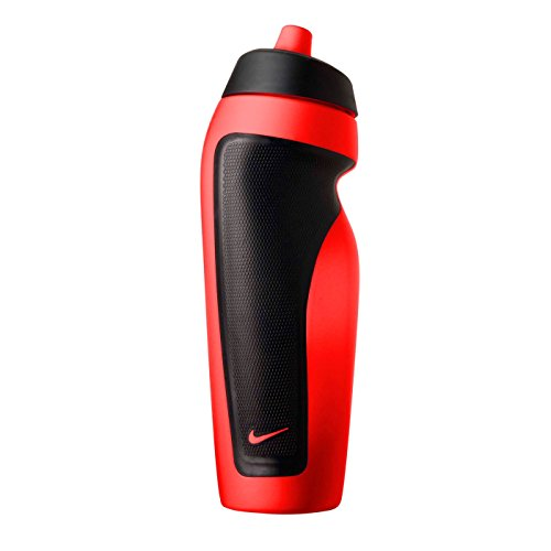Nike Bright Crimson Red Sports Water Bottle (FC0152H7-658)