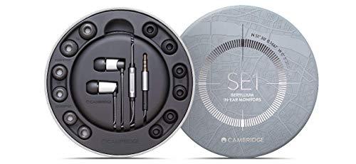 Cambridge Audio SE1 In-Ear-Kopfhörer, glatter Klang mit Universalfernbedienung und Mikrofon für den Telefongebrauch