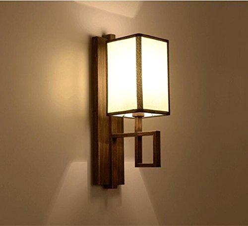 Moderne chinois d'ingšŠnierie de l'h?tel de la lampe murale minimaliste mur vie de la lampe chambre lampe de chevet de chambre