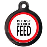 Please Do Not Feed Me Medical Pet Dog Tag (Small)