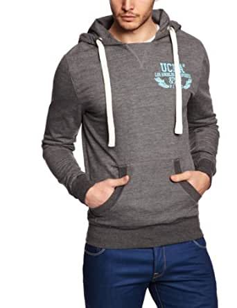 UCLA - Sweat-shirt à capuche - Homme - Gris (Grey Marl) - FR : XXL (Taille fabricant : XXL)