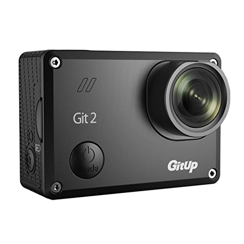 "Ollivan GIT2 2K Action Camera - Pro Edition - 1080p HD+WiFi Functionality+1.5"" Video Screen Sony IMX322 Sensor with Super Wide Angle View Compatible with GoPro / SJCam Accessories(Pro Edition)"