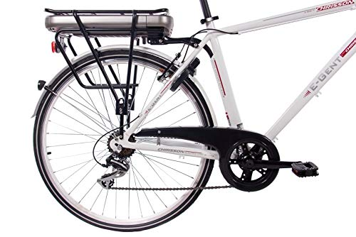 CHRISSON 28 Zoll E-Bike Trekking und City Bike für Herren Bild 4*