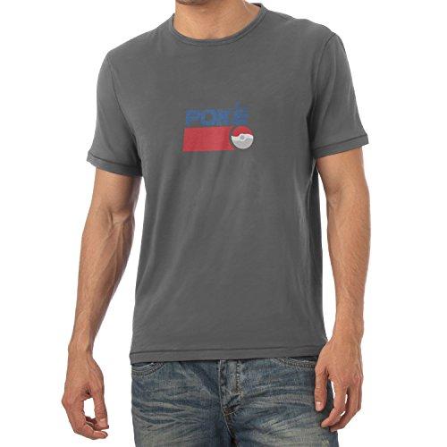 TEXLAB - Poke Soft Drink - Herren T-Shirt, Größe XXL, (Kostüm Pepsi Mann)