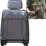 takestop® Abdeckung für Sitzgruppe Ws1273 Rücksitz Innenraum Auto für Kinder transparent Kunststoff