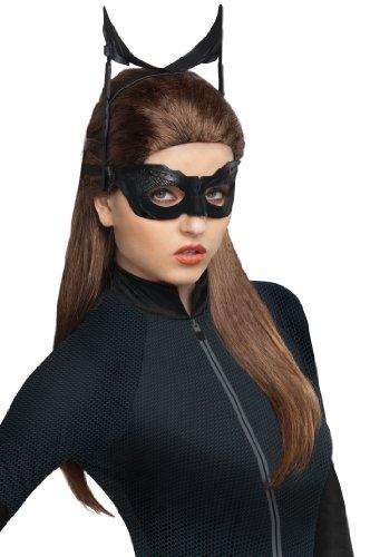 Rubies Kost-me Batman The Dark Knight Rises Catwoman Erwachsene Per-cke (Erwachsene Batman Kostüme Für Catwoman Und)