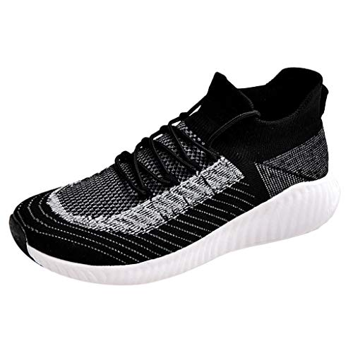 Saingace NO-483 Scarpe da Ginnastica da Uomo Scarpe Eleganti Running Sneakers Casual Ginnastica Fitness Respirabile Leggero Casual All'Aperto