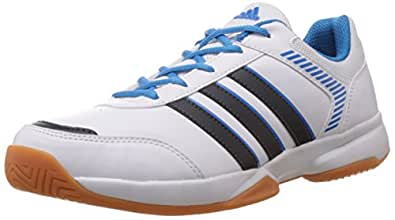 adidas Men's Aerobot White Indoor Multisport Court Shoes - 12 UK
