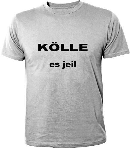 Mister Merchandise Cooles Fun T-Shirt Kölle es jeil Grau