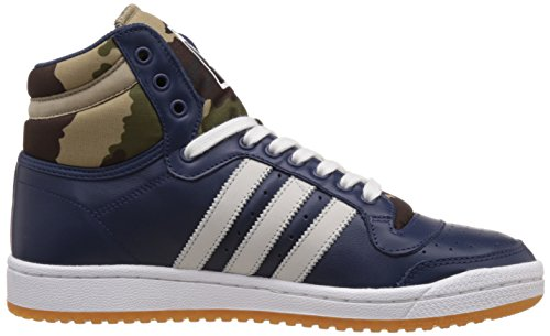 adidas Top Ten Hi, Baskets mode mixte adulte Azul / Blanco / Marrón / Verde