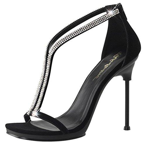 Heels-Perfect, alto donna Nero (Nero (nero))