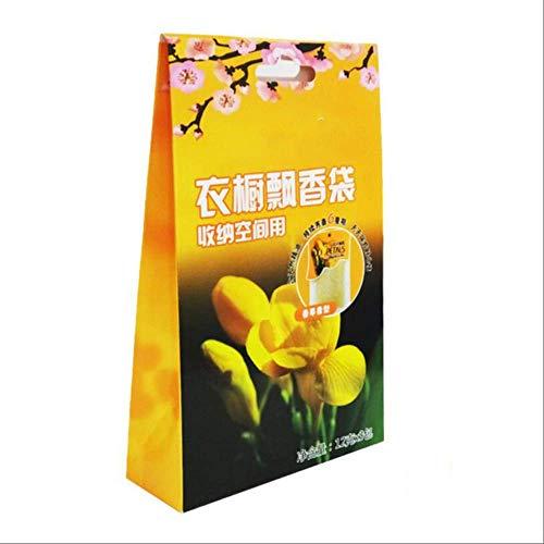 txxzn Bolsa De Fragancia Almirah Sachet Bolsa De Perfume Sólido Ambientador 12 Tipos De Fragancia Pueden Elegir Vainilla