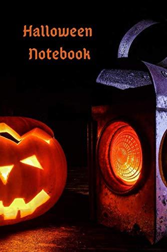Halloween Notebook: Small / Medium Lined A5 Notebook (6