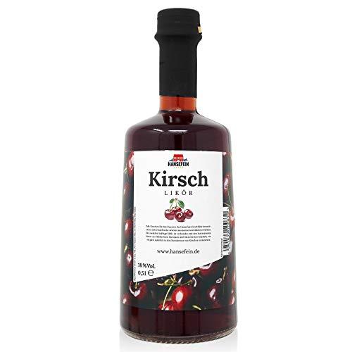 Hansefein Kirschlikör 0,5 Liter 18% Vol.