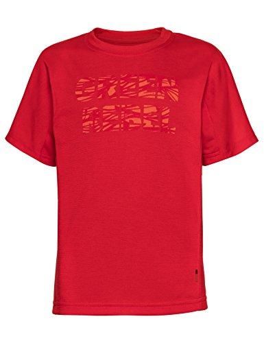Vaude Mädchen Kids Fulmar Shirt T, Indian Red, 122/128