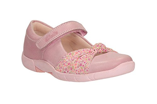 Clarks Mädchen Binnie Nia Inf Heather Leder Schuhe, rosa - rose - Größe: 44 EU F UK Kinder